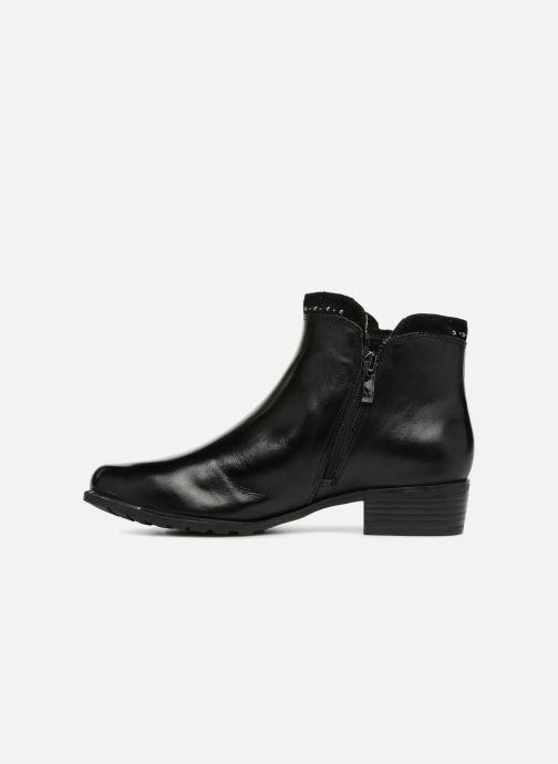 Bottines et boots Caprice Kaila Noir vue face