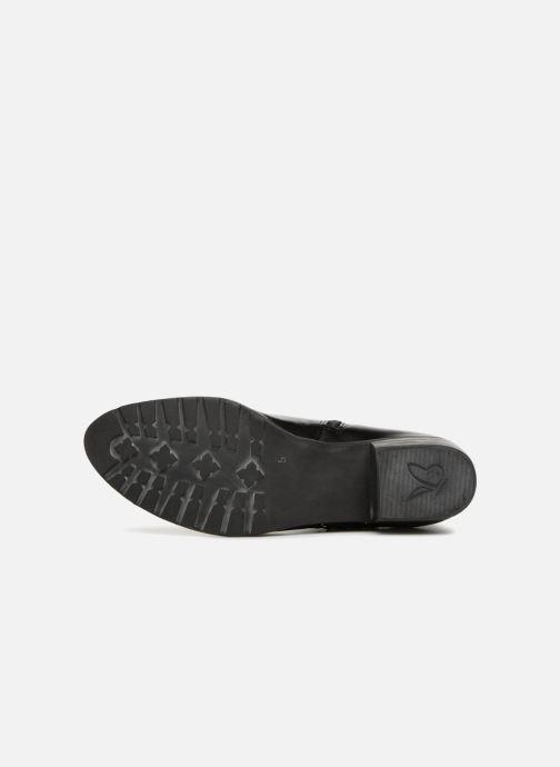 Bottines et boots Caprice Kaila Noir vue haut