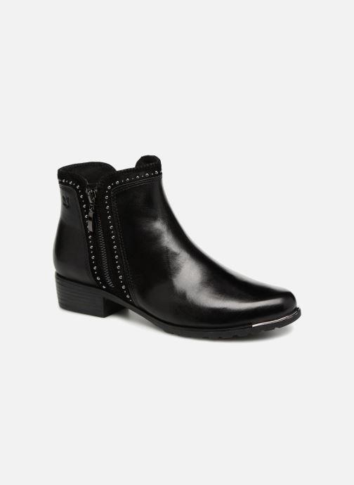 Bottines et boots Caprice Kaila Noir vue détail/paire
