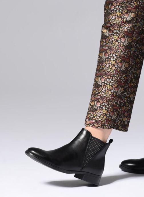 Boots en enkellaarsjes Caprice Belinda Zwart onder