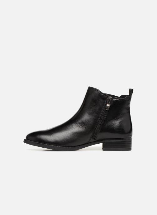 Boots en enkellaarsjes Caprice Belinda Zwart voorkant