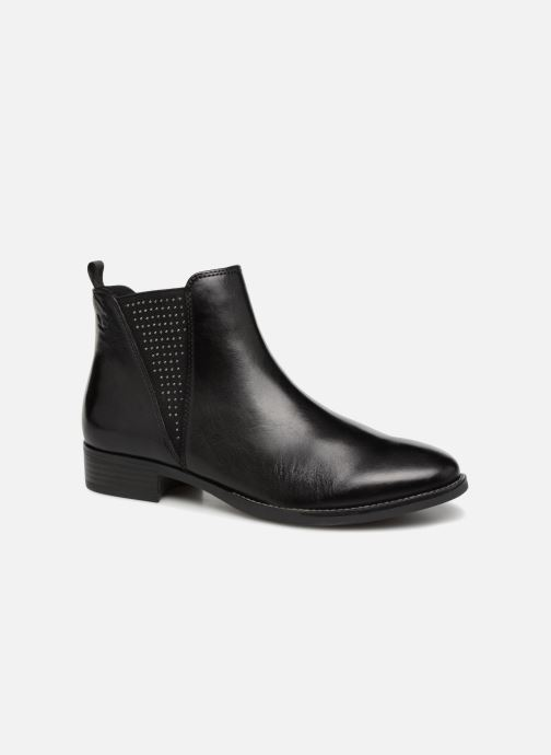 Boots en enkellaarsjes Caprice Belinda Zwart detail