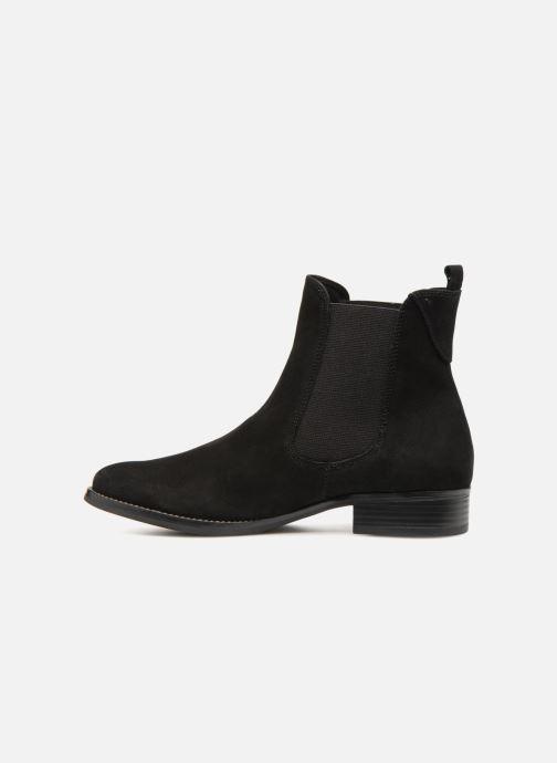 Caprice Et Bela Black Nubuck Bottines Boots 45RAjL