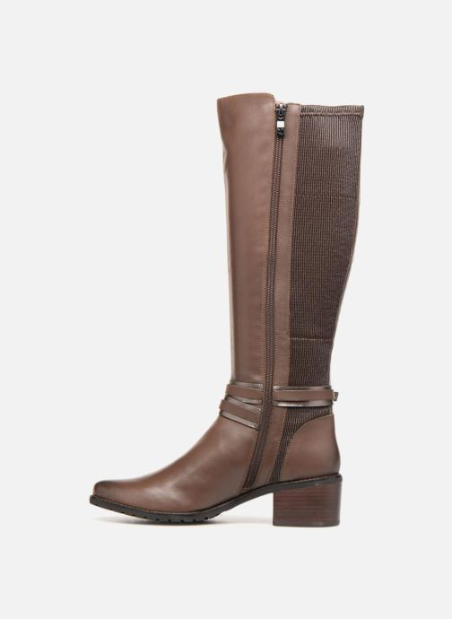 Boots & wellies Caprice Virna Brown front view