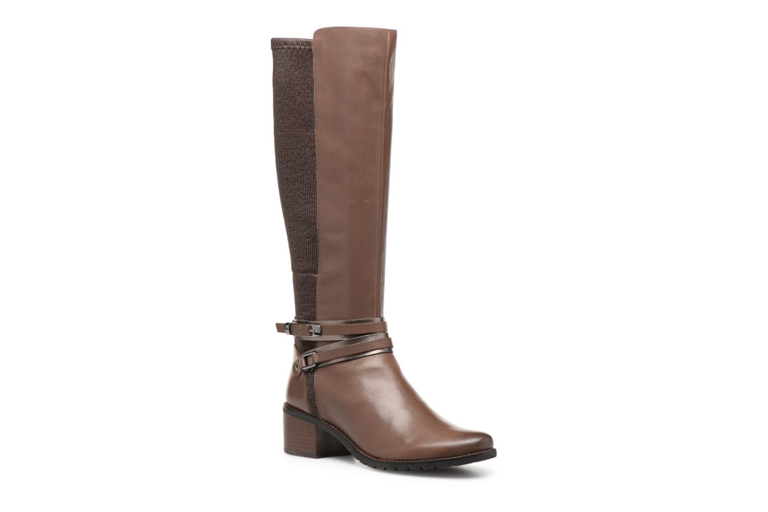 Boots & wellies Caprice Virna Brown detailed view/ Pair view