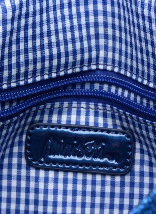 Sacs à main MiniSéri CARTABLE MINI PAILLETTES Bleu vue derrière