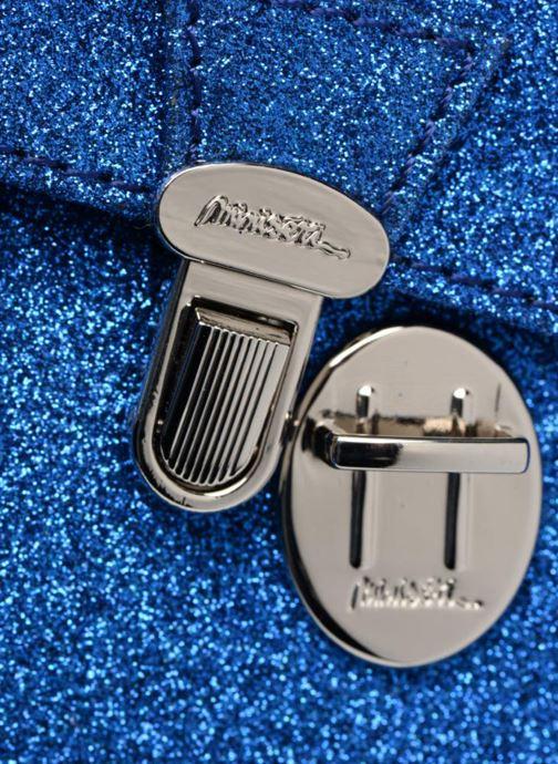 Sacs à main MiniSéri CARTABLE MINI PAILLETTES Bleu vue gauche