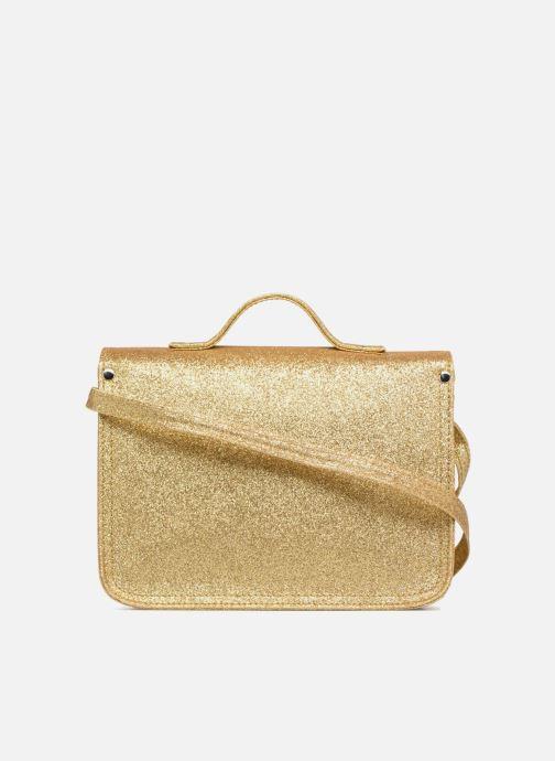 Handbags MiniSéri CARTABLE MINI PAILLETTES Bronze and Gold front view