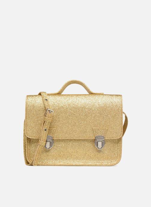 Handbags MiniSéri CARTABLE MINI PAILLETTES Bronze and Gold detailed view/ Pair view