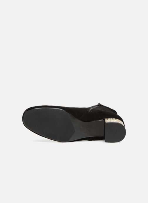 Bottines et boots Dune London ONAA Noir vue haut