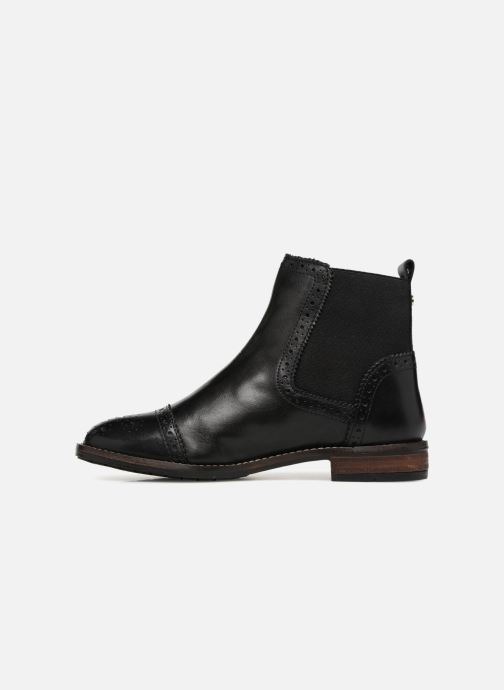 Bottines et boots Dune London QUESTON Noir vue face