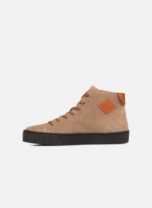 Sneakers Armistice Dogs Mid Beige voorkant