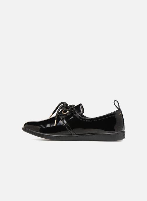 Chaussures à lacets Armistice Stone One Patent Noir vue face
