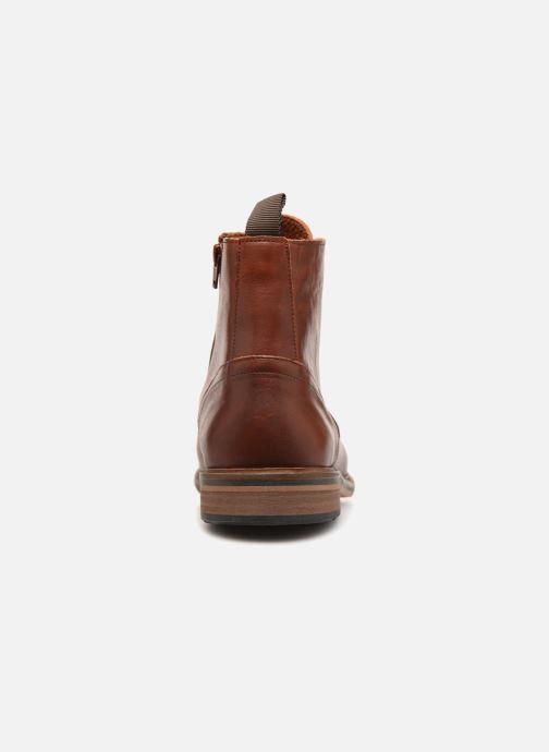 marron Boots Pilot Bottines Chez Et Schmoove w1pAq6EEW