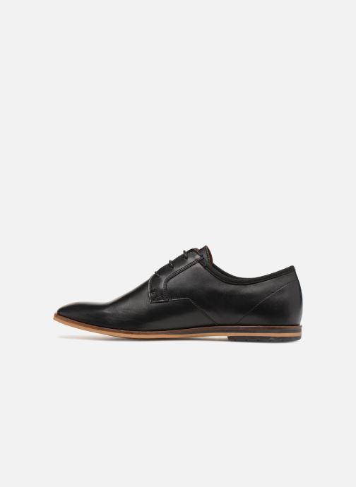 Chaussures à lacets Schmoove Swan City Noir vue face