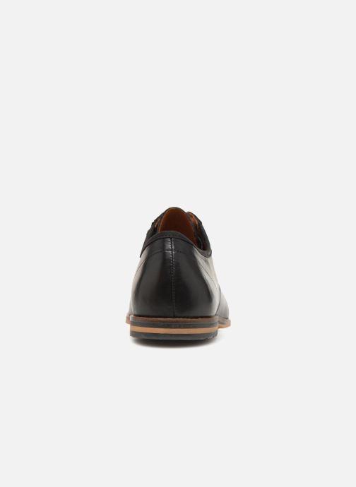 Chaussures à lacets Schmoove Swan City Noir vue droite