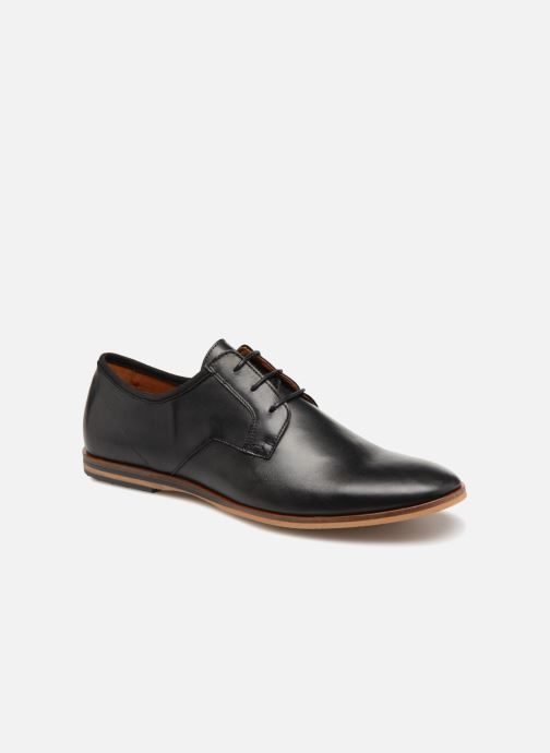 Lace-up shoes Schmoove Swan City Black detailed view/ Pair view