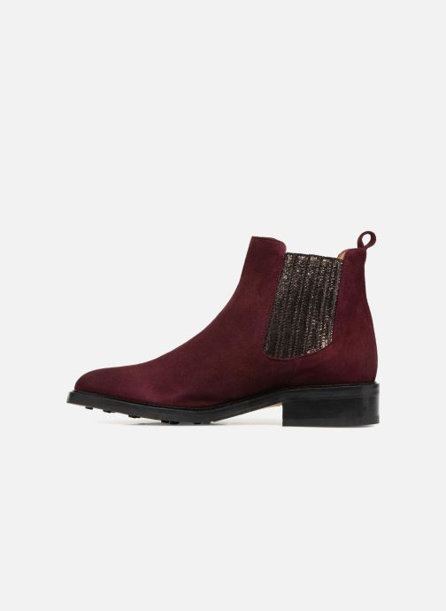 Bottines et boots Schmoove Woman Candide Chelsea Bordeaux vue face