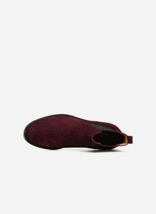 Bottines et boots Schmoove Woman Candide Chelsea Bordeaux vue gauche