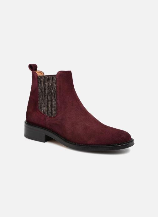 Bottines et boots Schmoove Woman Candide Chelsea Bordeaux vue détail/paire