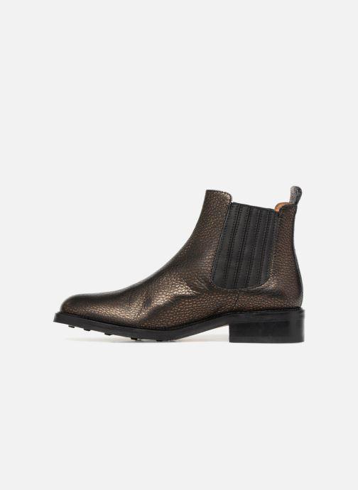 Bottines et boots Schmoove Woman Candide Chelsea Noir vue face