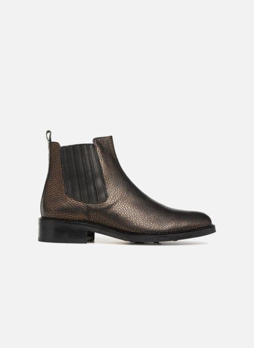 Bottines et boots Schmoove Woman Candide Chelsea Noir vue derrière