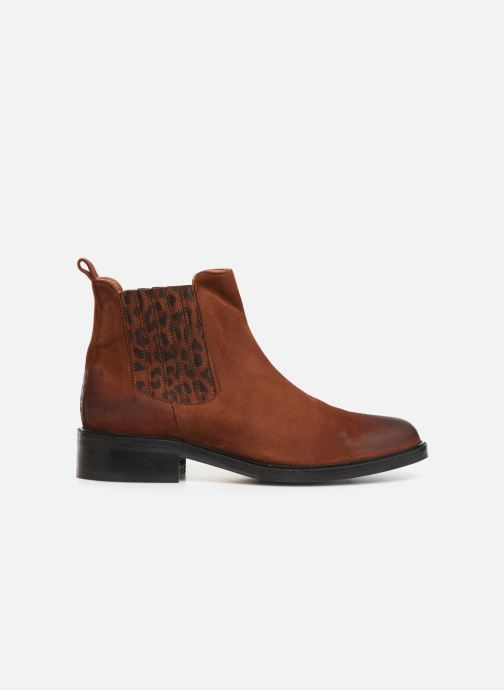 Bottines et boots Schmoove Woman Candide Chelsea Marron vue derrière