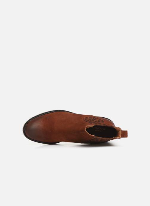 Bottines et boots Schmoove Woman Candide Chelsea Marron vue gauche