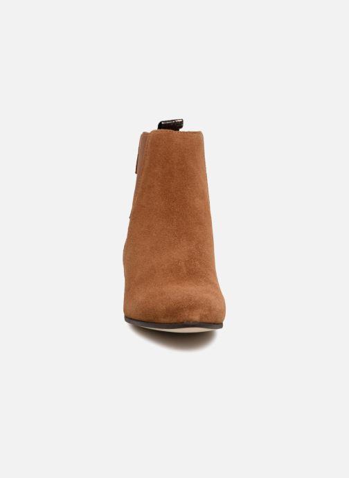 Bottines et boots Schmoove Woman Peckham Boots Marron vue portées chaussures