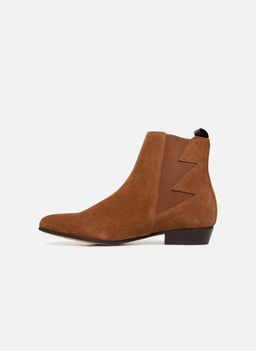 Bottines et boots Schmoove Woman Peckham Boots Marron vue face