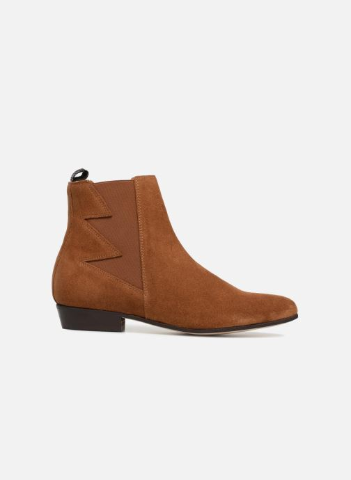 Ankle boots Schmoove Woman Peckham Boots Brown back view