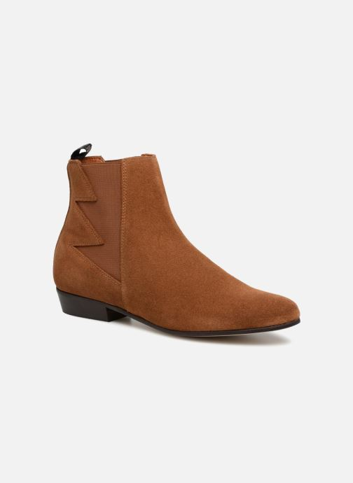 Ankle boots Schmoove Woman Peckham Boots Brown detailed view/ Pair view
