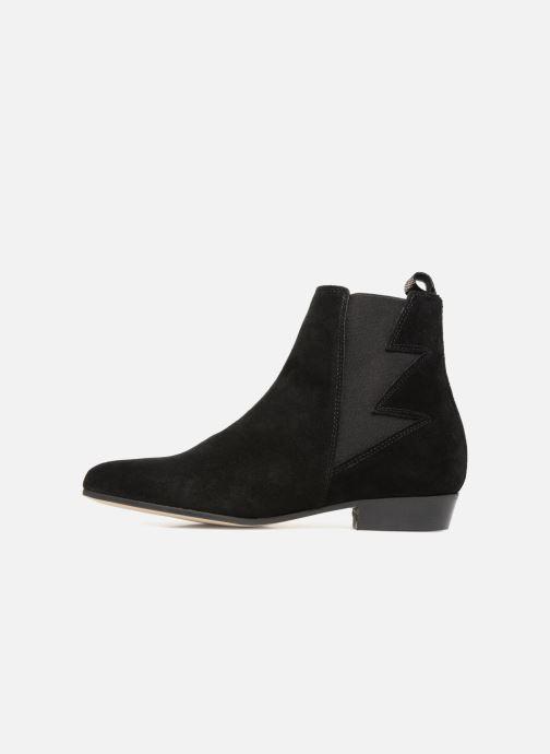Bottines et boots Schmoove Woman Peckham Boots Noir vue face