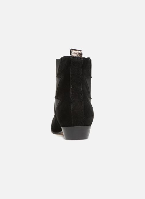 Bottines et boots Schmoove Woman Peckham Boots Noir vue droite