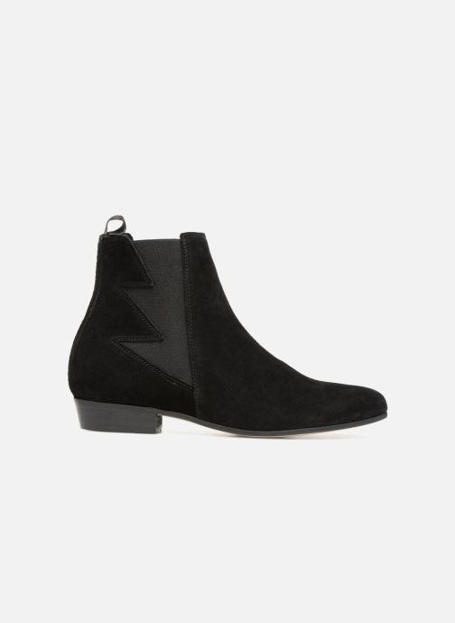 Bottines et boots Schmoove Woman Peckham Boots Noir vue derrière