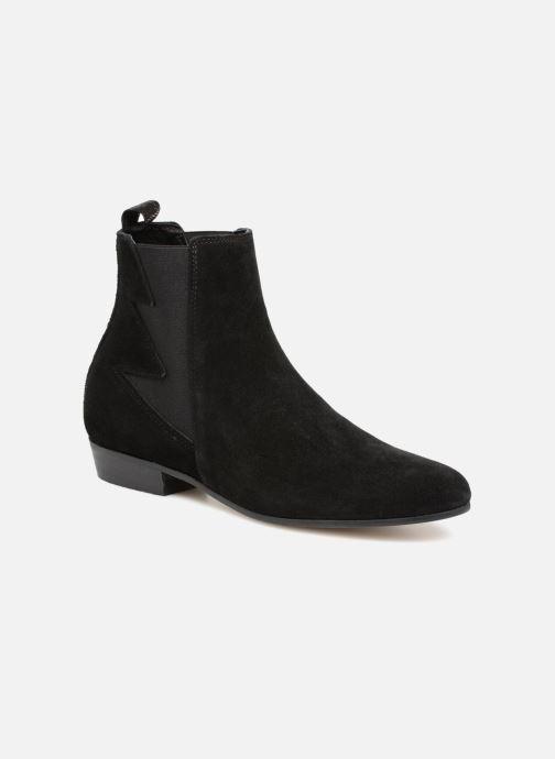 Bottines et boots Schmoove Woman Peckham Boots Noir vue détail/paire