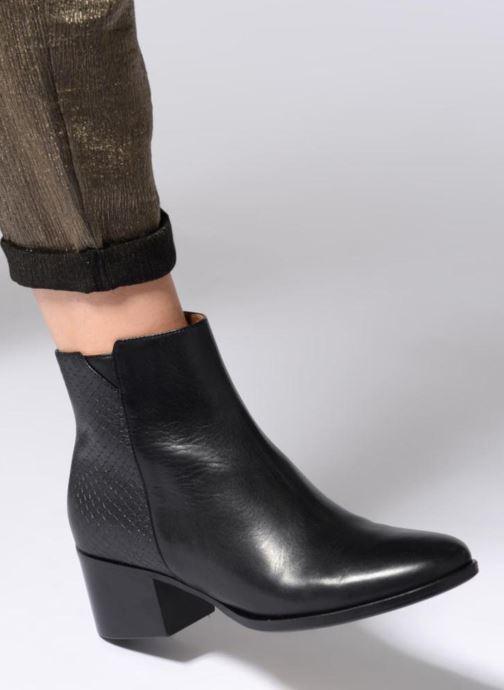 Bottines et boots Schmoove Woman Santana Boots Noir vue bas / vue portée sac