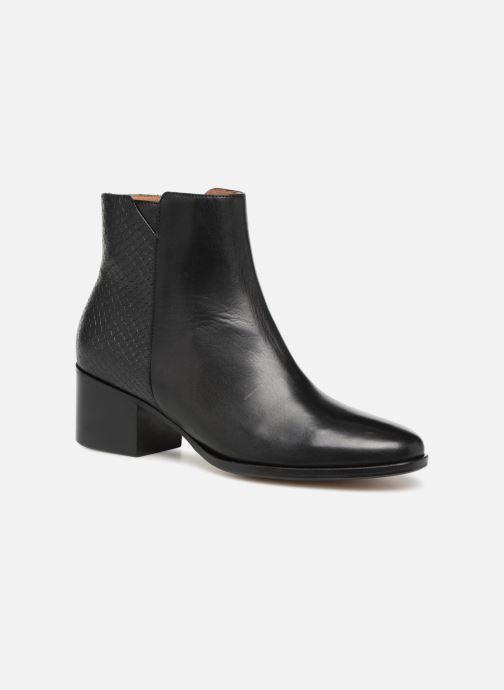 Bottines et boots Schmoove Woman Santana Boots Noir vue détail/paire