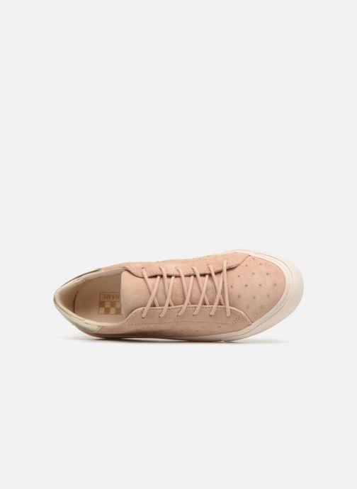 Baskets No Name Arcade Sneaker Suede Beige vue gauche