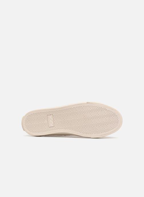 Baskets No Name Arcade Sneaker Suede Beige vue haut