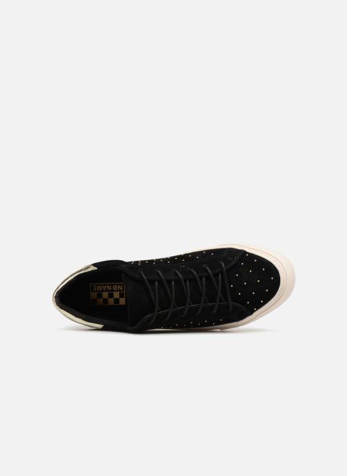 Baskets No Name Arcade Sneaker Suede Noir vue gauche