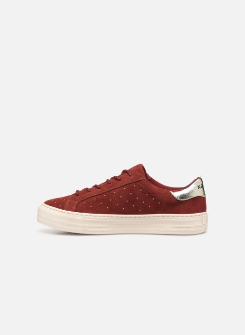 Trainers No Name Arcade Sneaker Suede Brown front view