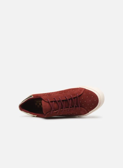 Trainers No Name Arcade Sneaker Suede Brown view from the left