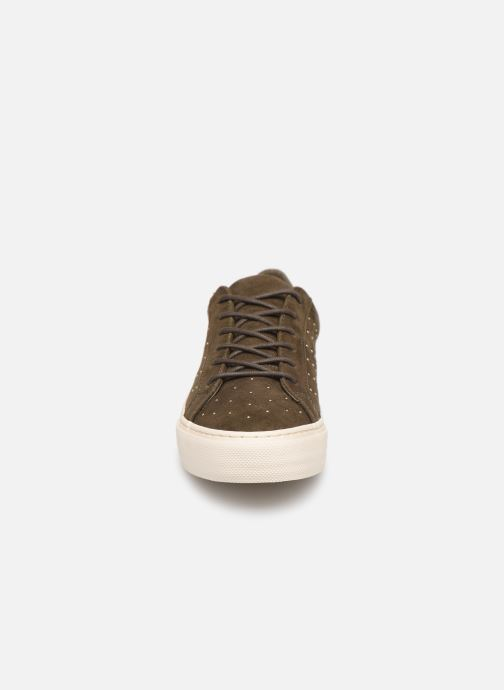 Trainers No Name Arcade Sneaker Suede Green model view