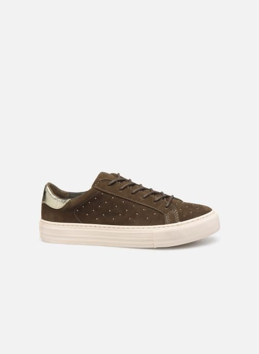 Trainers No Name Arcade Sneaker Suede Green back view