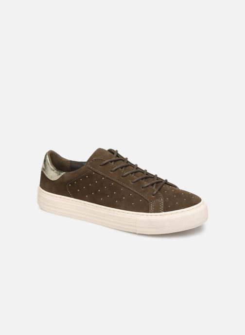 Sneakers No Name Arcade Sneaker Suede Groen detail