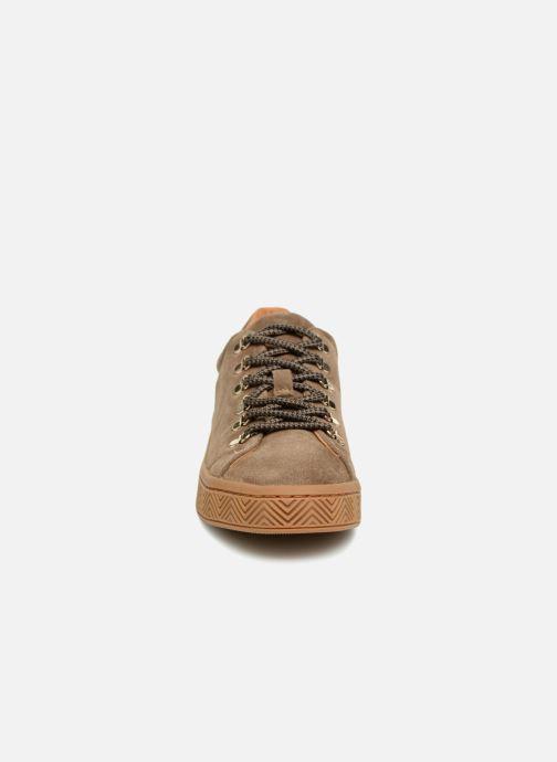 Baskets No Name Ginger Sneaker Marron vue portées chaussures