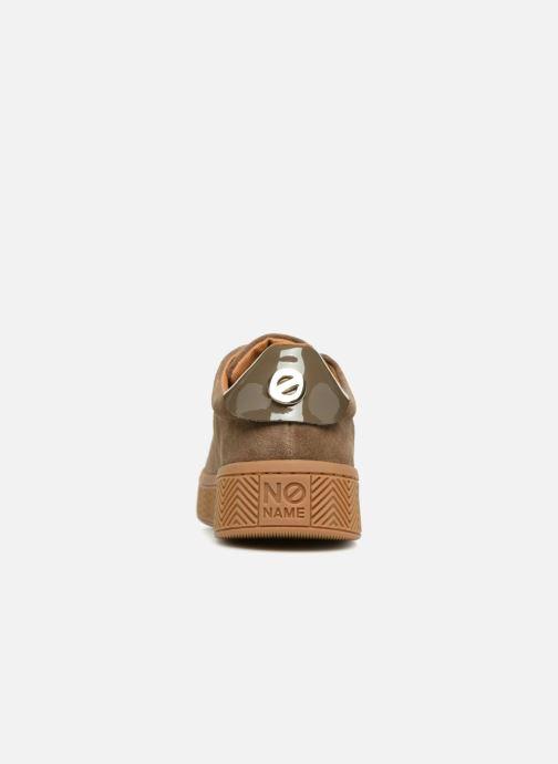Baskets No Name Ginger Sneaker Marron vue droite