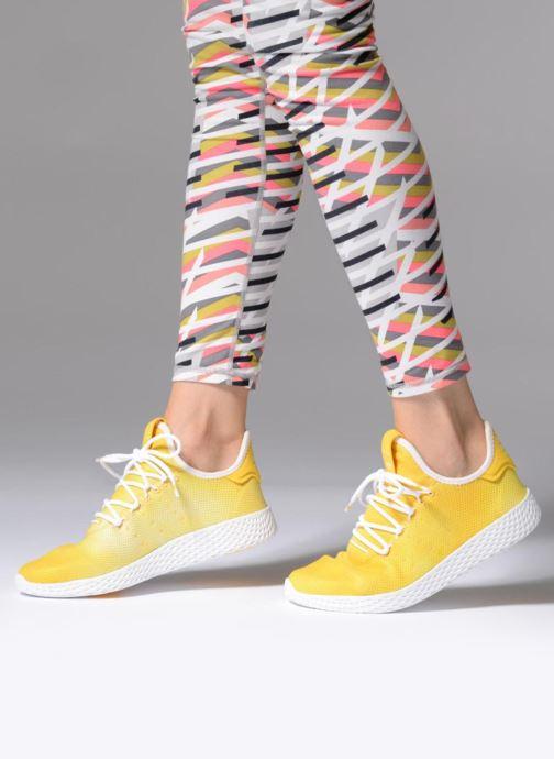 cheapest classic fit genuine shoes adidas originals Pharrell Williams Hu Holi Tennis Hu W (Jaune ...