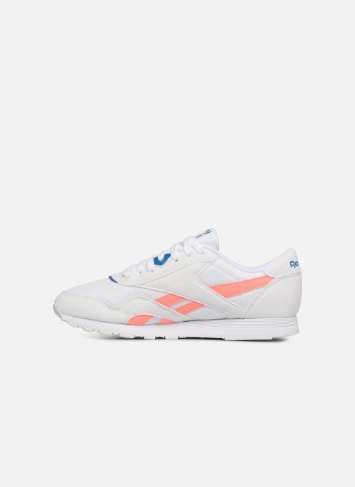 Trainers Reebok CL NYLON M TXT White front view